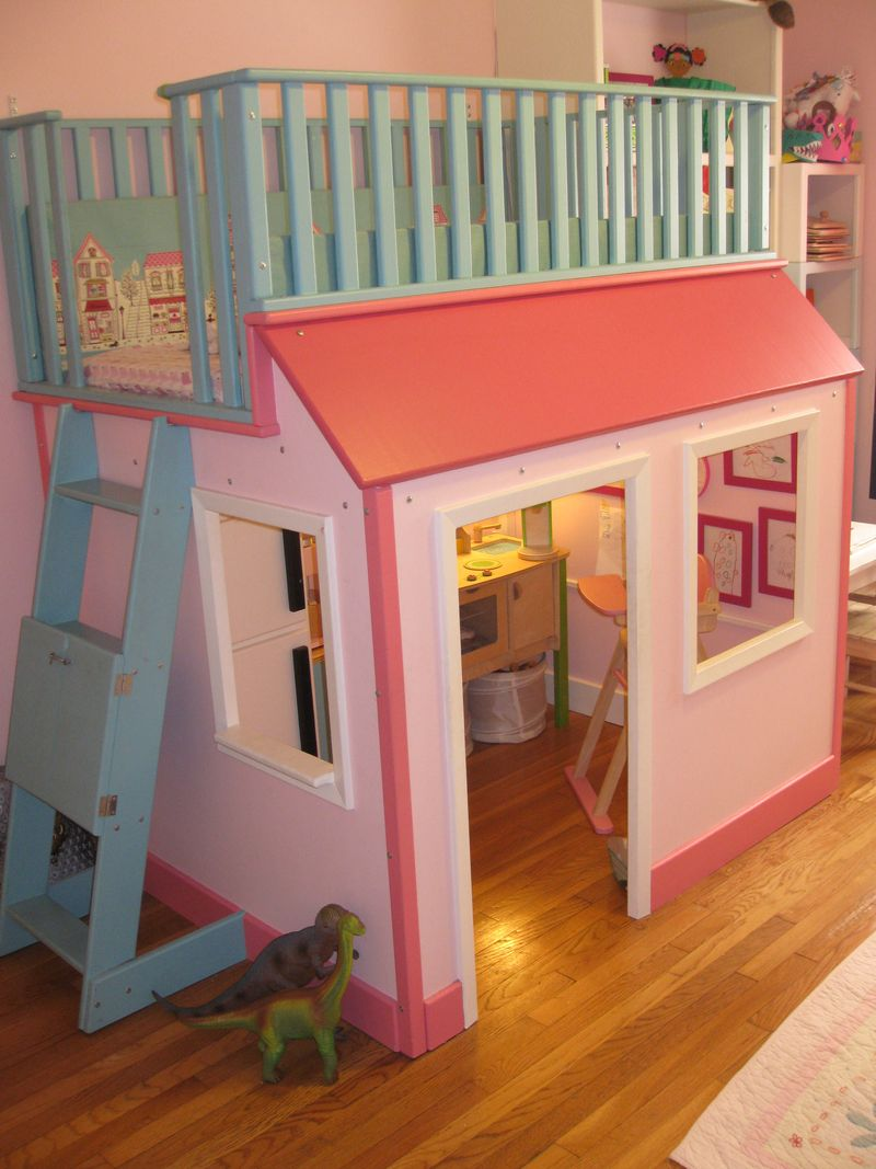 loft bed playhouse - Syrup